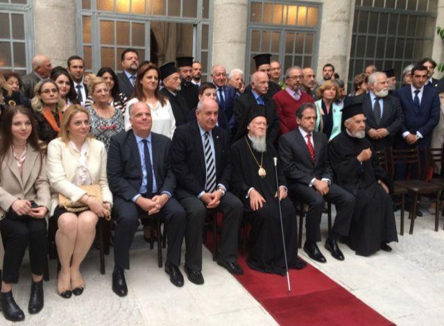 Με τον Οικουμενικό Πατριάρχη ο Τέρενς Κουίκ στην Κωνσταντινούπολη