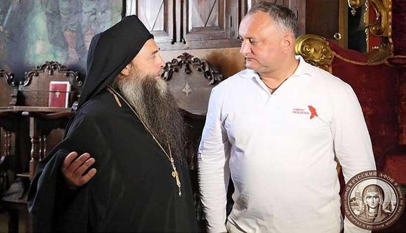 Στο Άγιον Όρος ο Πρόεδρος της Δημοκρατίας της Μολδαβίας Igor Dodon