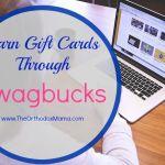 Income Earning Idea: Earn Gift Cards Through Swagbucks