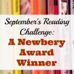 September Reading Challenge: A Newbery Award Winner