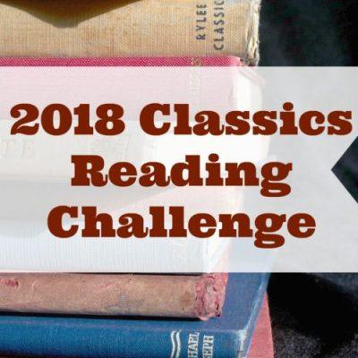 The 2018 Classics Reading Challenge