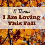 8 Things I'm Loving This Fall