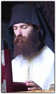 Hieromonk in prayer