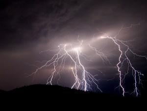 Lightning by janpirnatphoto