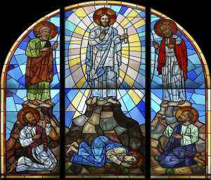 transfiguration of Christ - stained glass - orthodox-small