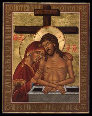 Christ Tomb Theotokos