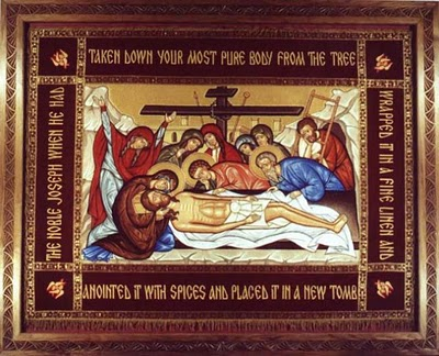 The Burial of Jesus Christ, Holy Friday