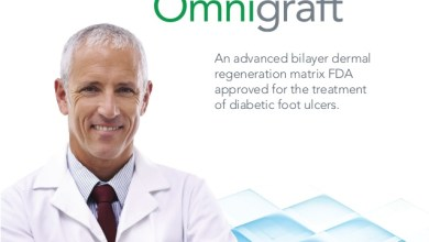 Photo of Integra LifeSciences Announces that Omnigraft™ Dermal Regeneration Matrix was Recognized as a Top Ten Innovation by Podiatry Today