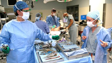Photo of Why is that salesman in the operating room for your knee replacement?