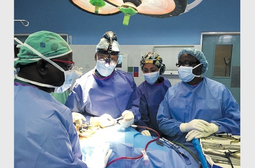 Jamaican doctor pioneers disc replacement procedure