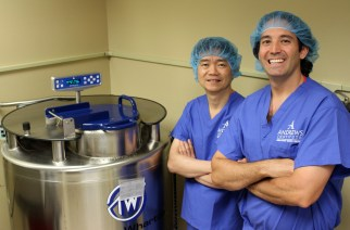 Regenerating Knee Cartilage with Stem Cells: Groundbreaking Clinical Trial Underway at Andrews Institute