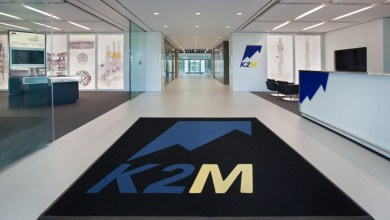 Photo of K2M Enhances CASCADIA™ Lateral 3D Interbody System Featuring Lamellar 3D Titanium Technology™ Following Clearances for CAYMAN® United Plate System
