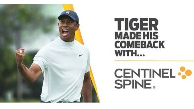Photo of Centinel Spine Announces Partnership with Tiger Woods