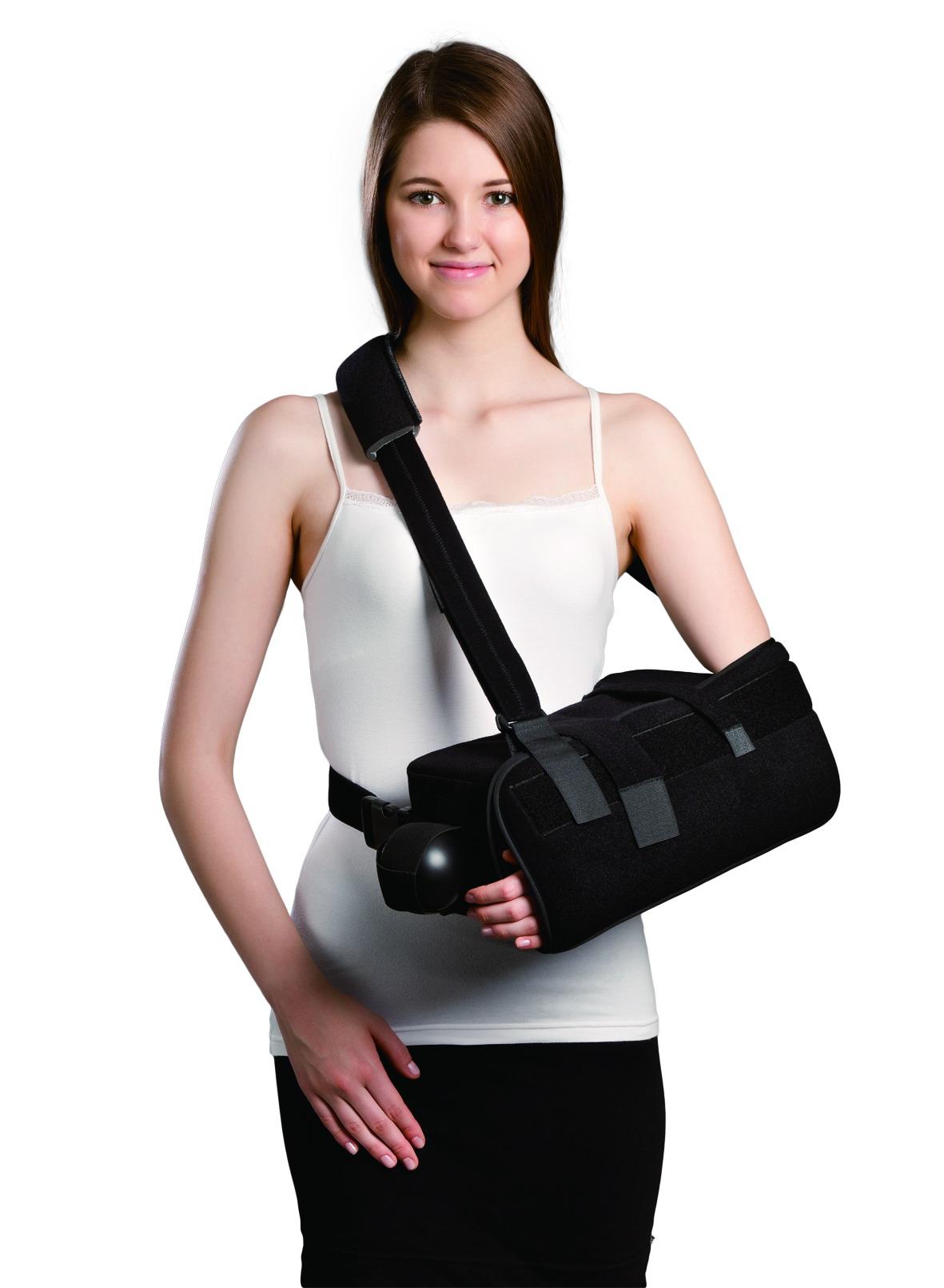 elife formfit super sling shoulder brace with abduction pillow