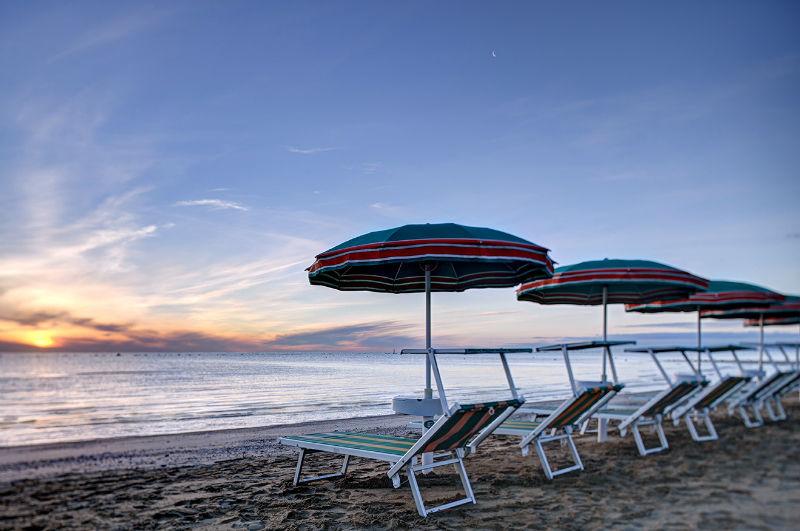 spiagga di Fano