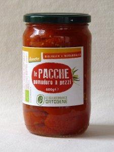 prodotti biologici: Pomodori a pacche in vasetto