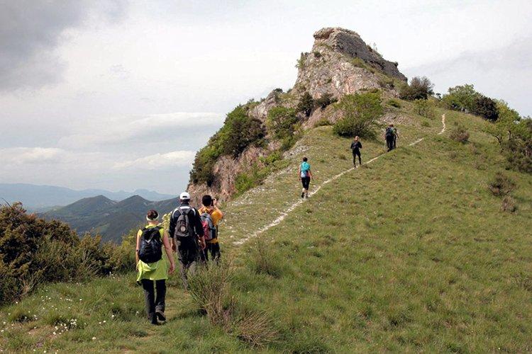 sentiero n.2 del monte nerone nelle marche