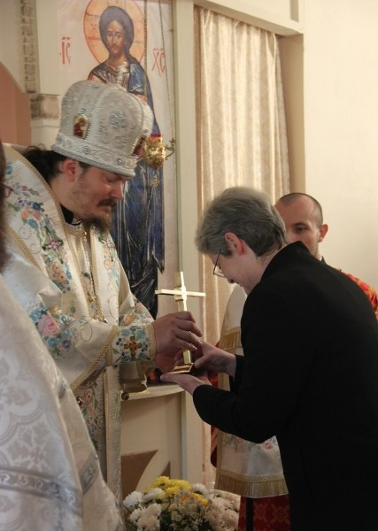 O relicvă donată Seminarului ortodox rus din Franţa