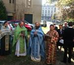 (Română) Hramul bisericii Acoperământului Maicii Domnului din Lyon, ajunsă la a 82-a aniversare
