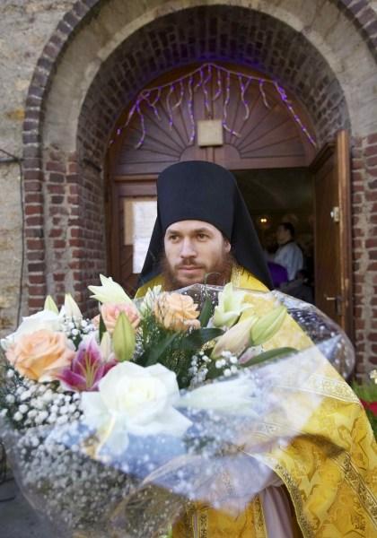 Zi de sărbătoare la parohia cuviosului Serafim de Sarov din Montgeron