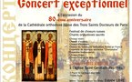 (Română) Concert excepţional cu ocazia hramului Catedralei ortodoxe ruse a Sfinţilor Trei Ierarhi: 12 februarie 2012