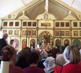 (Română) Biserica Sfinților Nicolae și Alexie din Ugine a marcat ziua pomenirii dreptului Alexie din Ugine