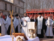 Franţa: Te-Deum la locul construcţiei catedralei ortodoxe pe cheiul Branly în Paris