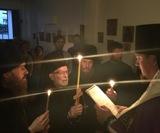 """Franţa: În biserica în cinstea icoanei Maicii Domnului """"Bucuria tuturor scârbiților"""" s-a petrecut slujba cinului călugăresc"""