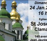 Concert de cîntece ortodoxe la Biserica Sf. Iosif din Clamart