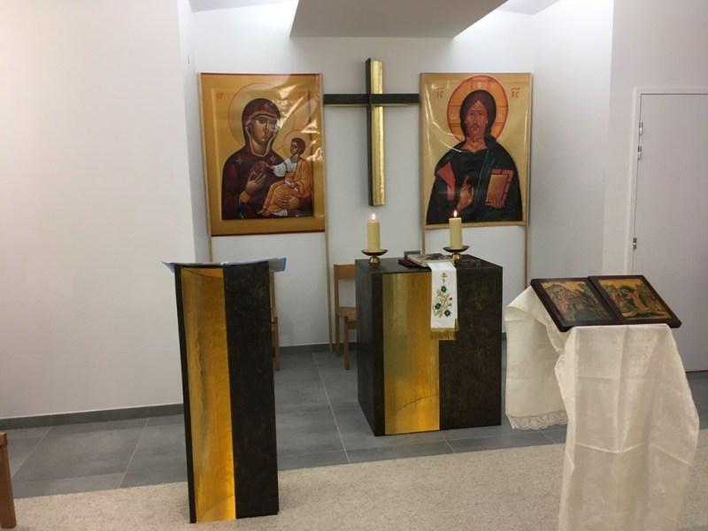 Sfânta Liturghie cu ocazia sărbătorii Adromirii Maicii Domnului va avea loc la Biserica cuviosului Paisie din Paris