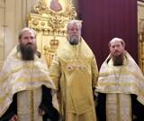 (Română) În ziua prăznuirii Sf. Cneaz Vladimir, reprezentanții comunității moldovenești din Eparhia Corsunului au participat la Sfânjta Liturghie oficiată de ÎPS Mitropolit Vladimir