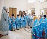 (Foto) Cu ocazia celei de-a 8-a aniversări a hirotoniei sale, episcopul Nestor de Corsun a săvârșit Sfânta Liturghie la Catedrala Sfintei Treimi din Paris