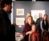 """La Centrul Spiritual și Cultural de la Paris s-a deschis expoziția """"Lumea plină de lumină a Ecaterinei Serebriakova"""""""