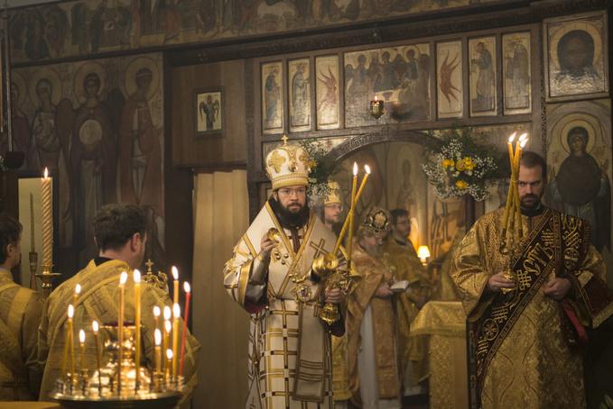 Hramul Bisericii Sfinților Trei Ierarhi din Paris a avut loc la 12 februarie 2020