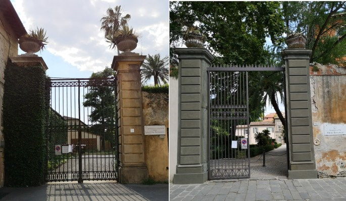 Pictures of the entrances