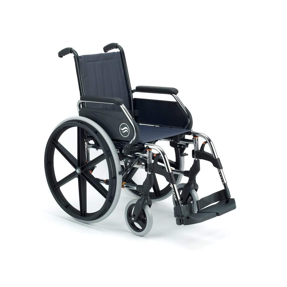Breezy 250  Silla de ruedas de acero plegable