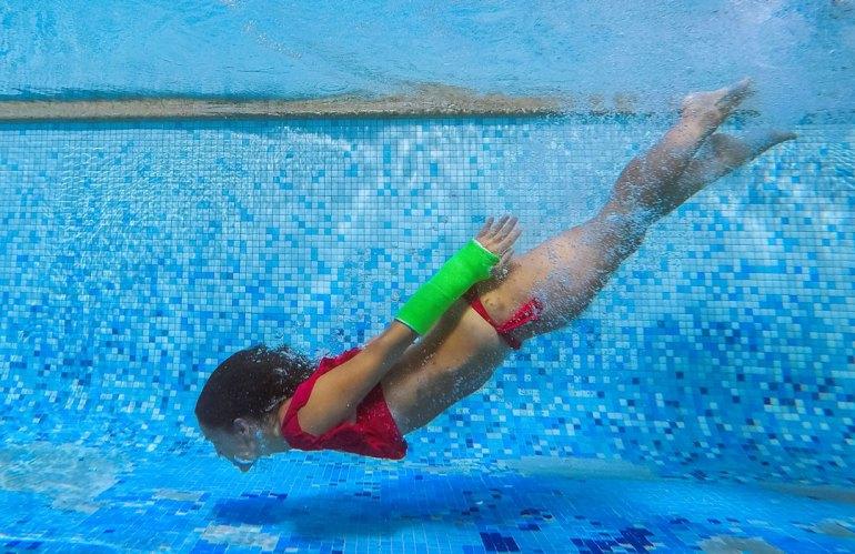 Yesos Waterproof, los yesos que se pueden mojar