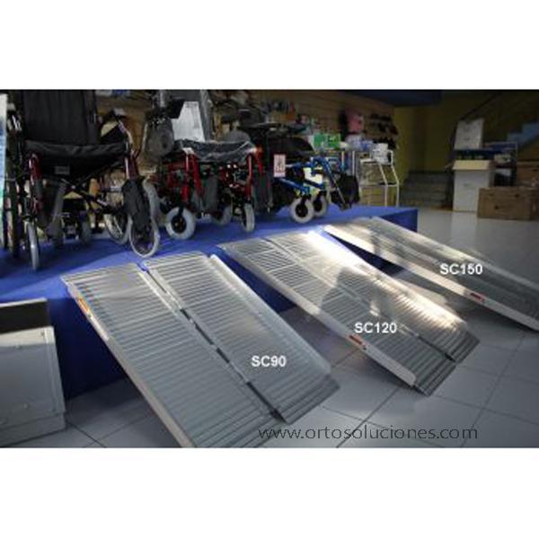 Rampa plegable aluminio  Orto Soluciones