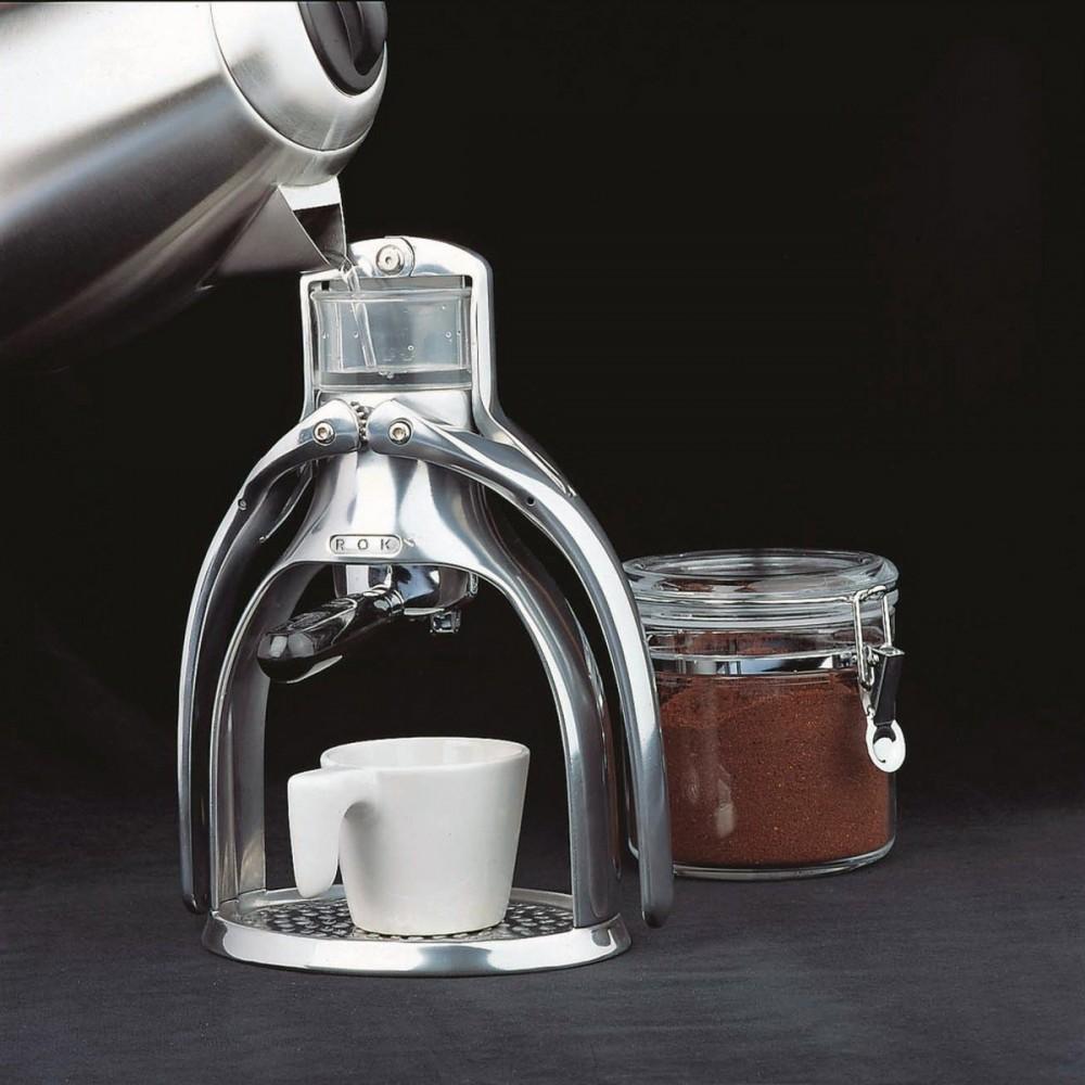 Macchina per caff espresso a leva ROK
