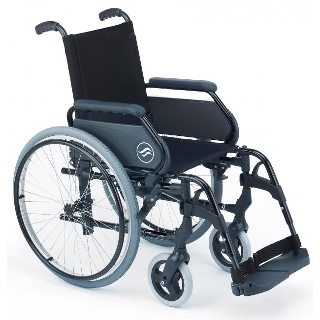 Breezy 300  Silla de ruedas aluminio plegable