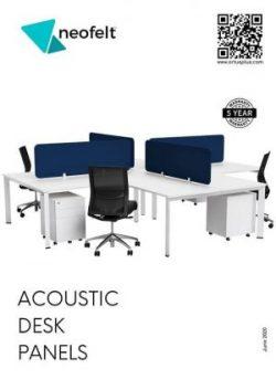 Neofelt Desk Solutions Catalogue