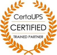 CertaUPS technically and commercially trained