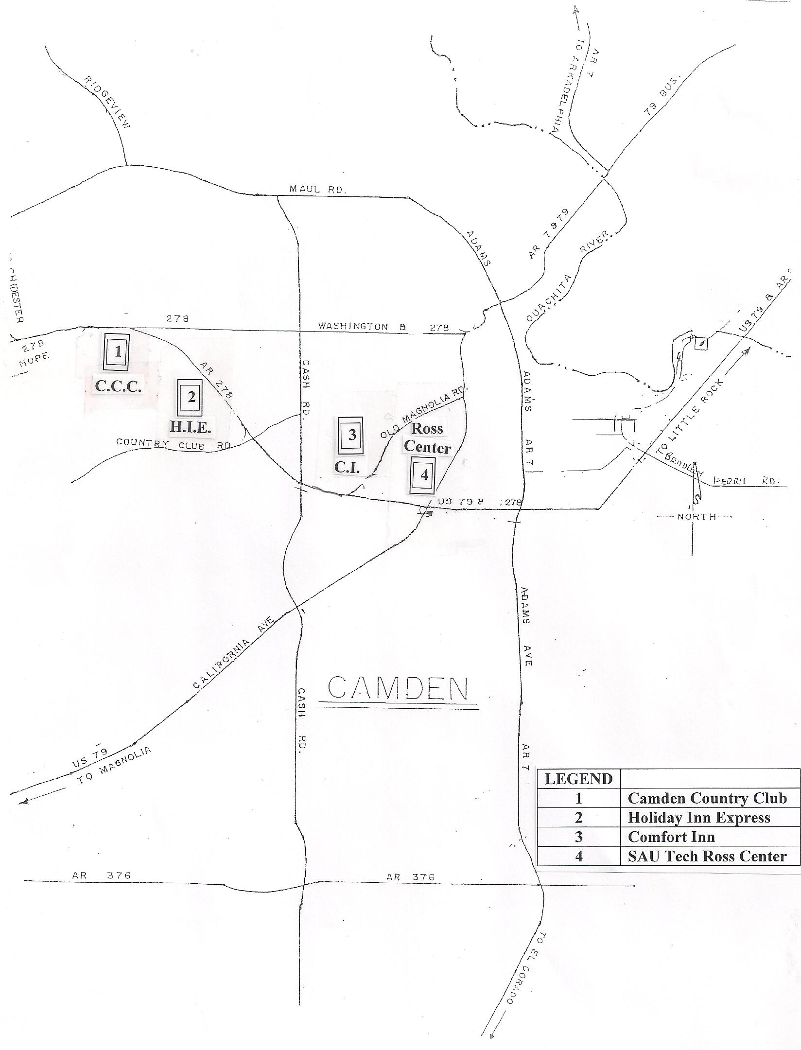 Camden Map