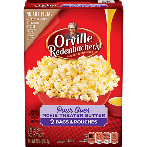 pour over movie theater butter