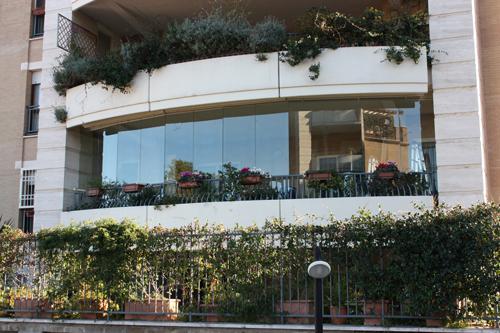 Vetrate Pieghevoli per esterno  Orvi Serramenti  Vendita Roma