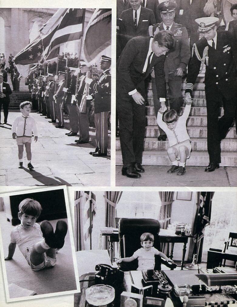 JFK Funeral John John Salute