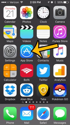 iphone install updates