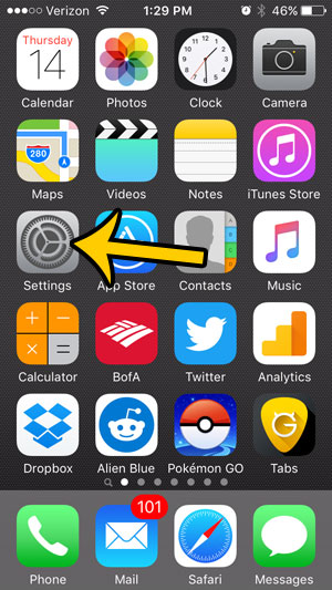 remove red circle app store iphone - step 1