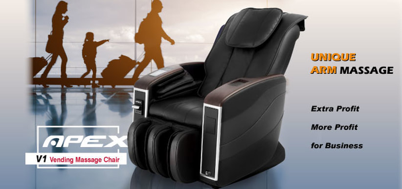used vending massage chairs for sale accent chair purple apex v1 black slumber pros