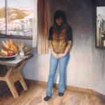 2001年「雪の降った日」F100号 キャンバス、エマルジョン地、油彩